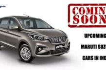upcoming maruti cars in india image