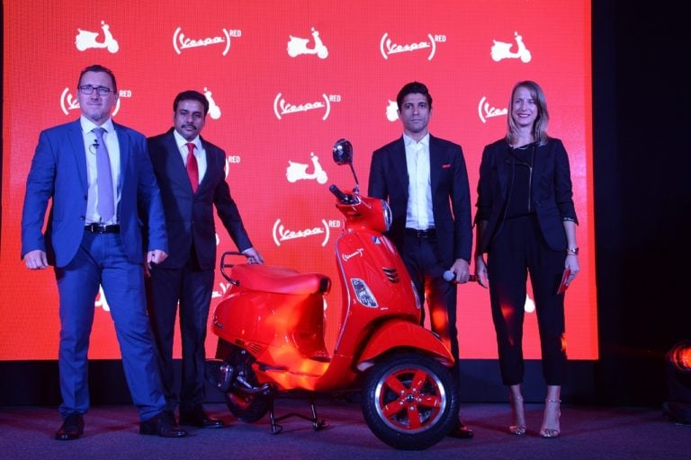 Vespa RED Edition Launched in India