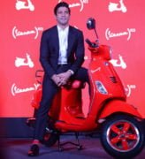 vespa red edition images