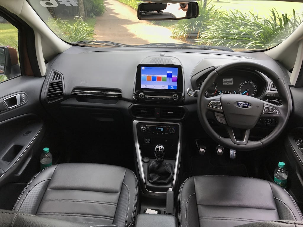 ford ecosport facelift price in india specifications mileage features. Black Bedroom Furniture Sets. Home Design Ideas