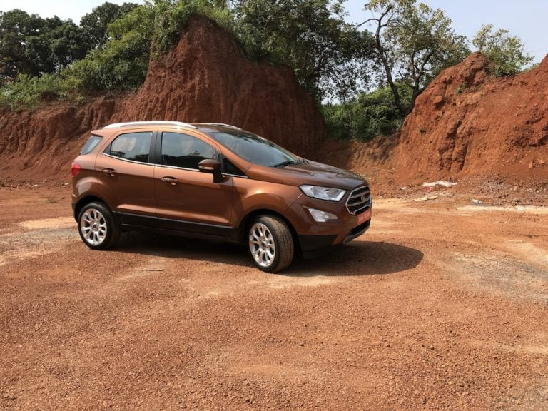 Ford EcoSport Titanium Variants Slightly Updated; Lose Some Features