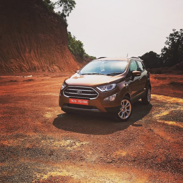 ford ecosport facelift price