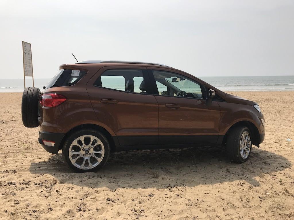 Ford EcoSport Facelift Images