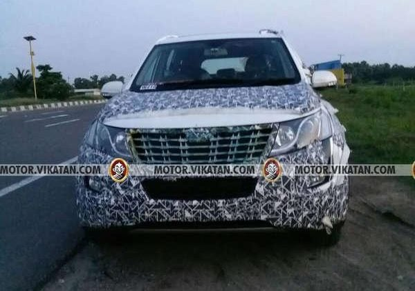 2018 Mahindra Xuv 500 New Model Spy Pictures Features And