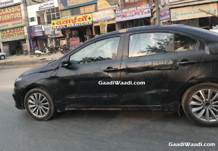 2018 Maruti Ciaz Facelift Images Side Profile