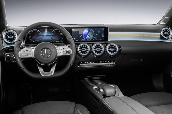 2018 Mercedes A-Class Interiors Revealed- Better Than The S-Class?