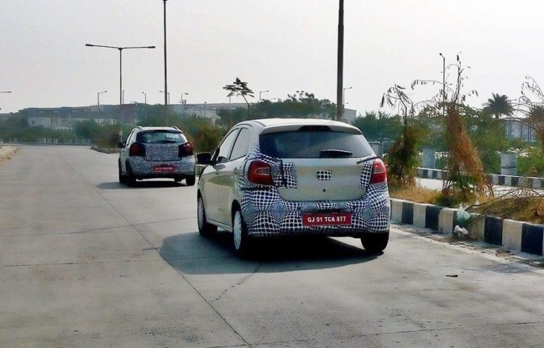 2018 Ford Figo Facelift and Crossover Variant Spied, Launch Soon