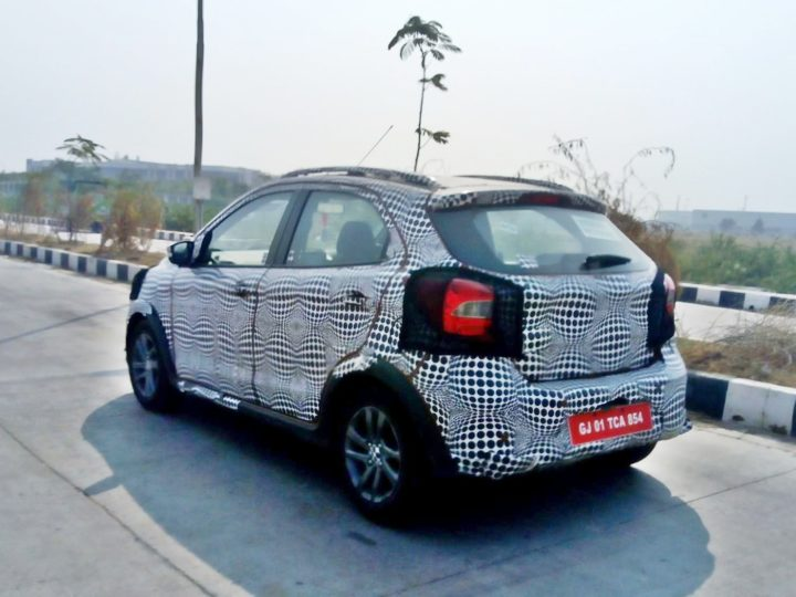 2018 ford figo facelift images rear angle