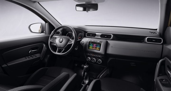 2018 Renault Duster Interior Dashboard