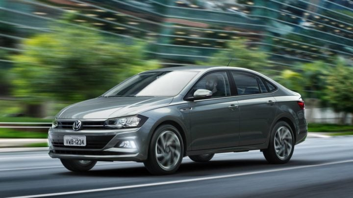 2018 volkswagen virtus images front angle action photo