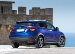 Honda Vezel Images Rear Angle