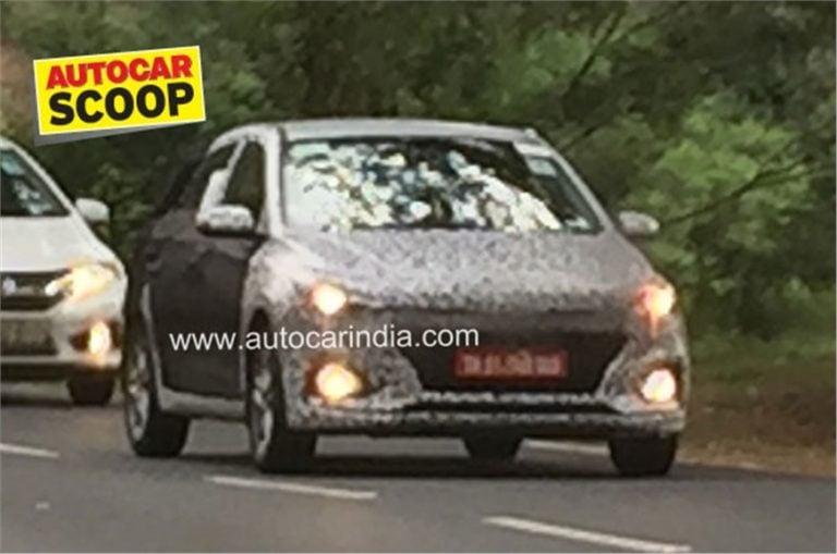 2018 Hyundai Elite i20 New Model Spied Again- Debut At Auto Expo 2018?