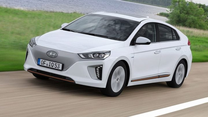 Hyundai Electric Sedan - Ioniq Hybrid