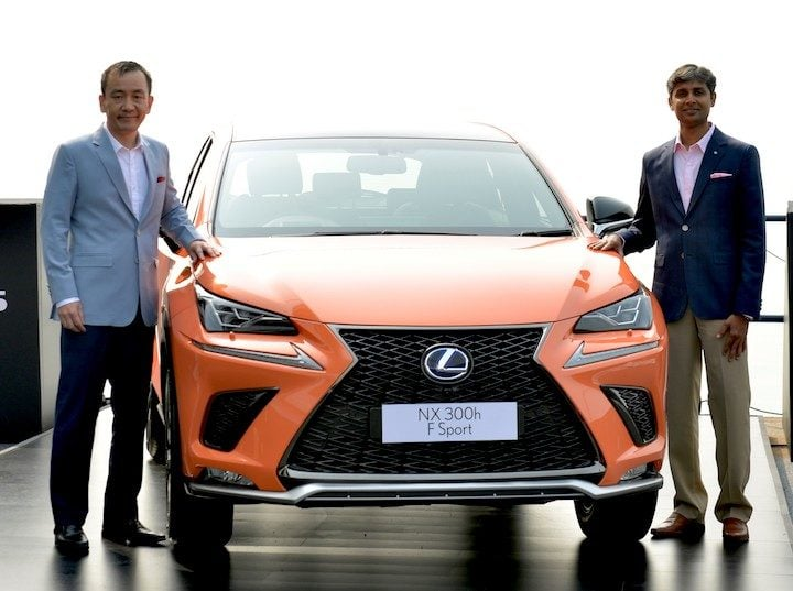 lexus nx 300h price in india