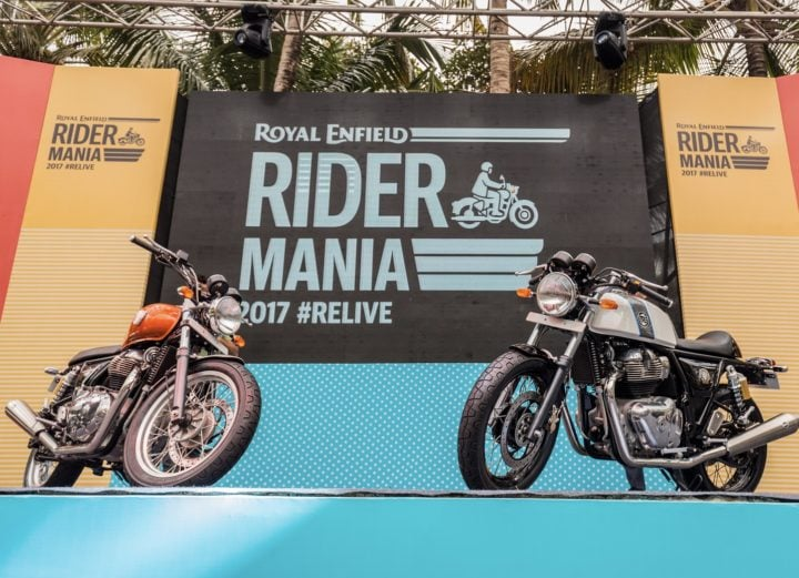 Royal Enfield Interceptor INT 650 and Continental GT 650 India