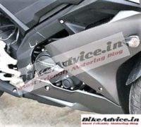 Yamaha R15 v3 India images front fairing side