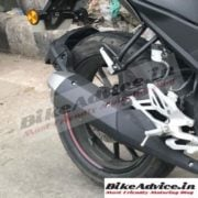 Yamaha R15 v3 India images exhaust pipe