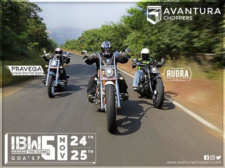 avantura choppers india images