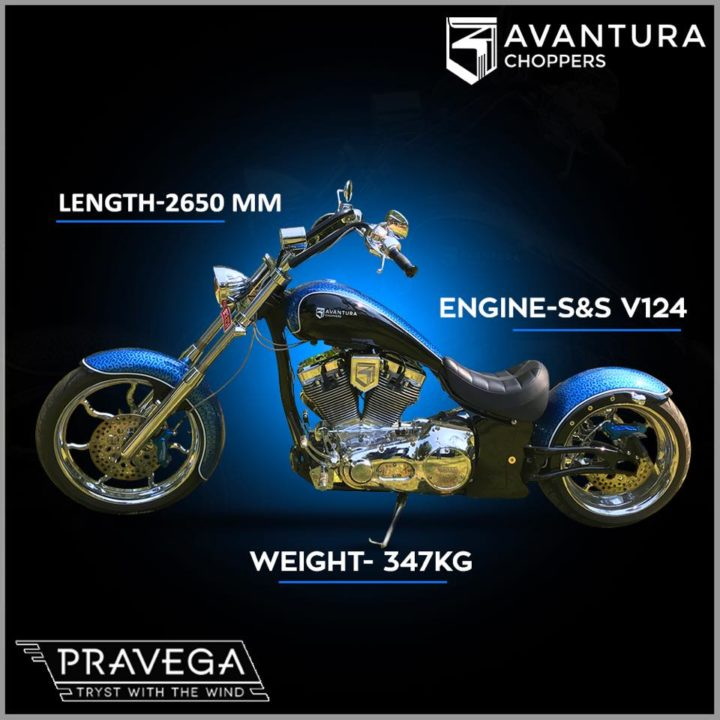 avantura choppers india images pravega