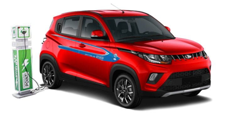 mahindra kuv100 electric car