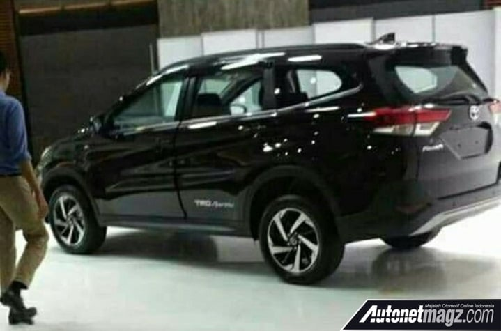 New 2018 Toyota Rush Spy Images Completely Reveal The