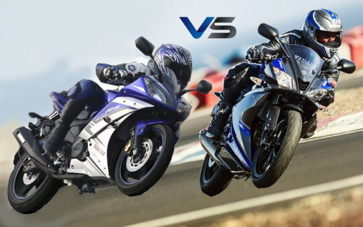 new yamaha r15 v3 vs old r15 v2