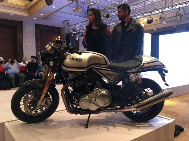 Norton dominator and Norton commando india images