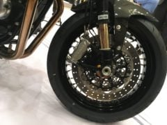 Norton Dominator India Launch Images front wheel disc brake
