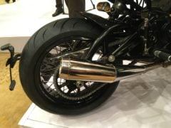 Norton Dominator India Launch Images rear wheel disc brake