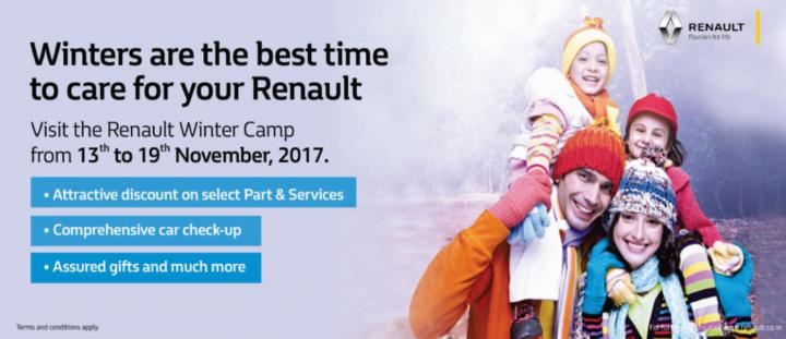 renault winter camp