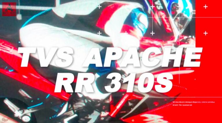 TVS Apache RR 310S Launch Date Revealed! December 6 it is!!