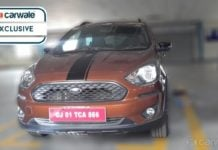 2018 Ford Figo Freestyle spyshot (2)