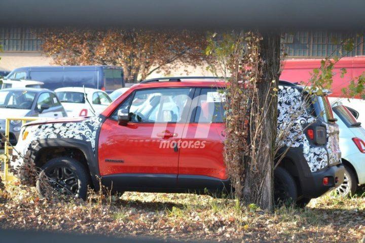 2018 Jeep Renegade Facelift Spyshot 1