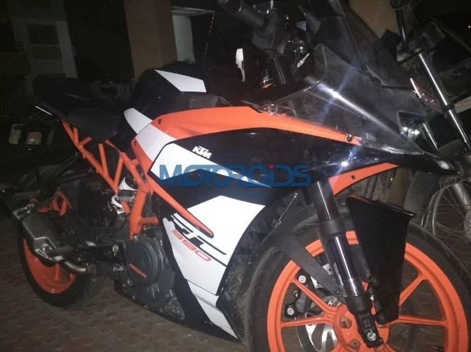 2018 KTM RC 390 Spied in India, Launch in Coming Months