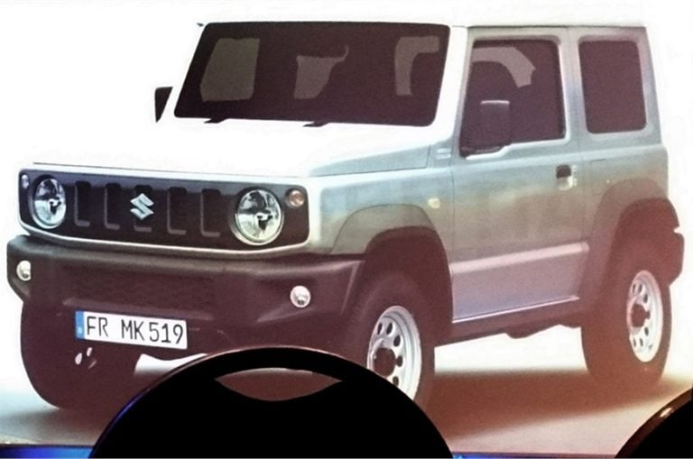 2018 Suzuki Jimny Could Launch in India as the New Gypsy