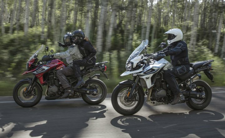 Upcoming Triumph Bikes in India - 2018 Triumph Tiger 1200 range