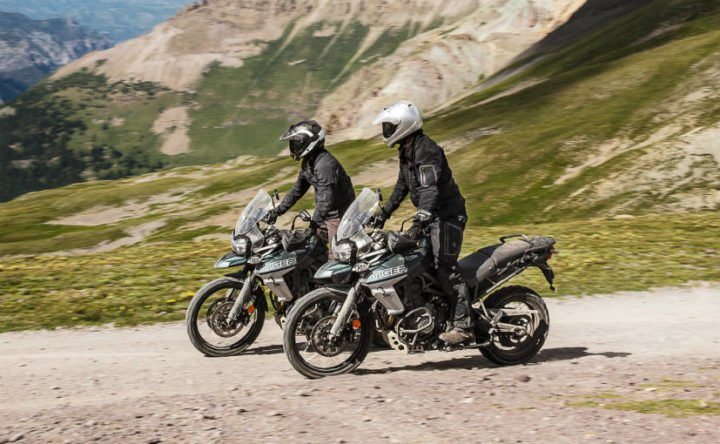 Upcoming Triumph Bikes in India 2018 - 2018 Triumph Tiger 800 range