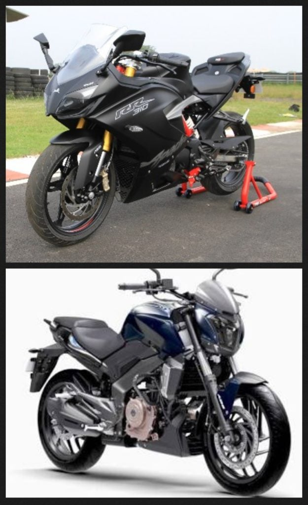 Reviews Com Product Reviews And Comparisons Of 2018 >> TVS Apache RR 310 vs Bajaj Dominar 400 Comparison of Price, Specs