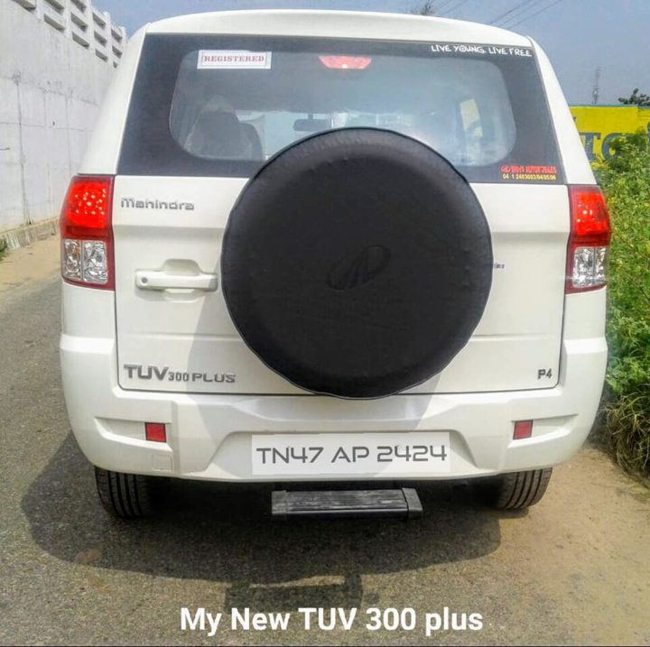 Mahindra TUV 300 Plus delivered