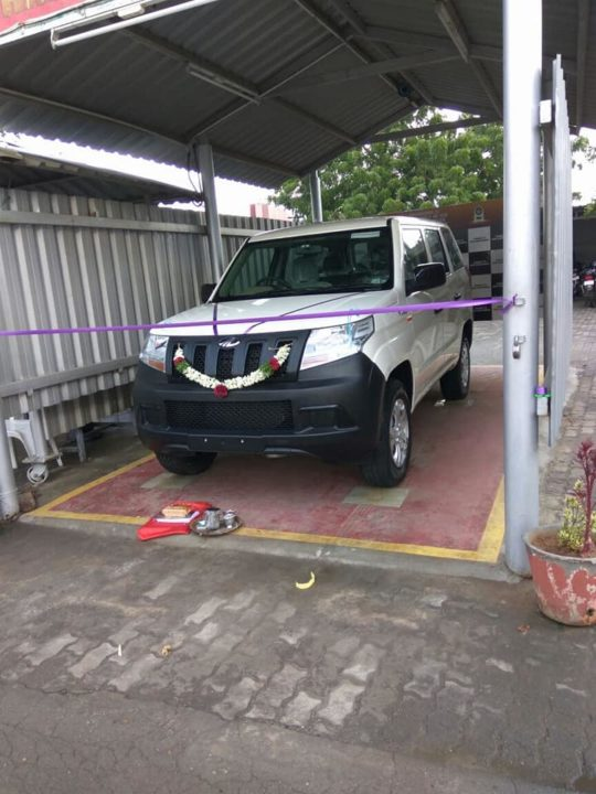 Mahindra TUV 300 Plus delivered front