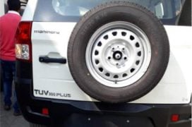 Mahindra TUV300 Plus images rear
