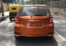 Nissan-Note-e-Power Spotted In India