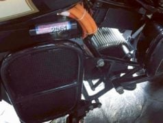Royal Enfield Classic Electric Thailand Side Angle Images Battery Pack Protection Images