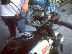 Royal Enfield Classic Electric Thailand Side Angle Images DIgital Speedo Images
