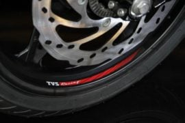 TVS-Apache-RR-310-launch-emblem-wheel