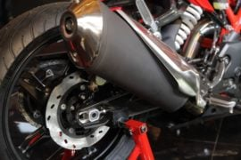 TVS-Apache-RR-310-launch-exhaust