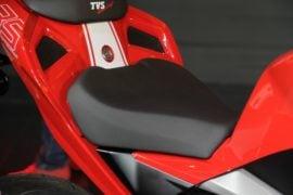 TVS-Apache-RR-310-launch-front-seat