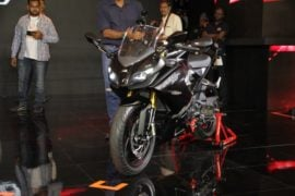 TVS-Apache-RR-310-launch-front-three-quarter-black
