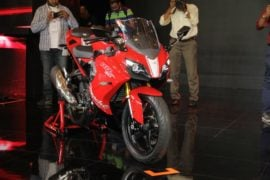 TVS-Apache-RR-310-launch-front-three-quarter-right