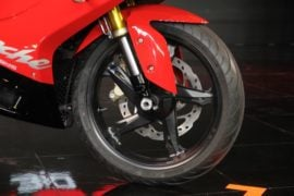 TVS-Apache-RR-310-launch-front-wheel